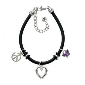 Purple Resin Wings & Purple Swarovski Crystals Black Peac Jewelry