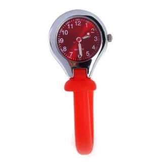 Rubber Silicone Red Nurse Nurses Watch Bag Fob