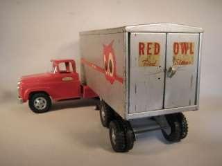 Vinage 1959 onka Privae Label Red Owl Food Sores Semi All Original