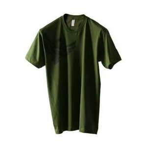 FLY CASUAL FLY TEE BADGE OLIVE MD BADGE OLIVE M
