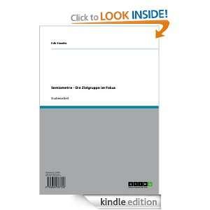Semiometrie   Die Zielgruppe im Fokus (German Edition) Falk Staudte
