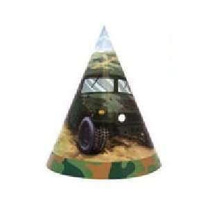 Hummer Truck Party Hats (8 Count) Toys & Games