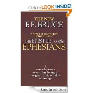 The Epistle to the Ephesians A Verse by Verse Exposition by One of