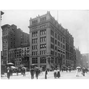 23rd Street & 5th Avenue,New York City,c1908,Street Scene