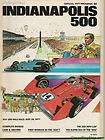 1977 Indianapolis 500 Program A.J. Foyt Gilmore Coyote