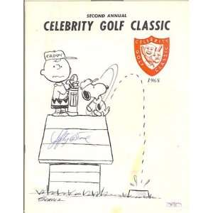 Lefty ODoul Autographed Celebrity Golf Classic Magazine 1968 (James