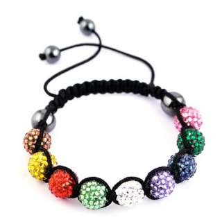 Multicolor Light Green/White/Brown/Yellow/Pink/Purple/Navy Green/Red