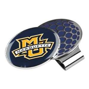 Marquette Golden Eagles NCAA Hat Golf Clip With Ball