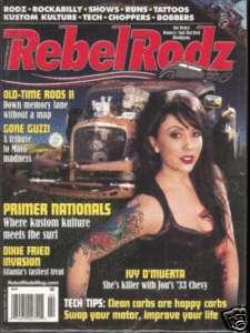 Kustom Kulture/Gonzo Guzzi/Rockabilly/Ivy DMuerta/Old Hot Rods