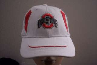 Nike Ohio Sae Buckeyes Baseball Cap Ha Adjusable Red Whie Black
