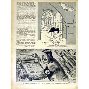 LE RIRE FRENCH HUMOR MAGAZINE WAR HITLER MUSIC NUNS: Home