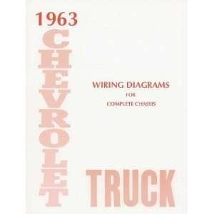 1963 CHEVROLET TRUCK Wiring Diagrams Schematics Automotive