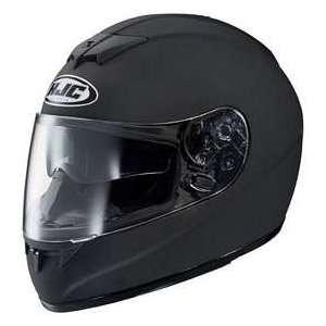 HJC FS 10 FS10 MATTE BLACK SIZELRG MOTORCYCLE Full Face