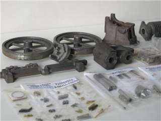 Scale 1912 Gade Model C Aircooled Uni Flow Engine Castings Kit