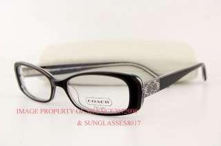 7178a3626d9 ... Brand New COACH Eyeglasses Frames 2010 FIONNA BLACK Size 51 100% ...