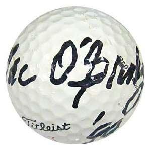 Mac OGrady Autographed / Signed Golf Ball Sports