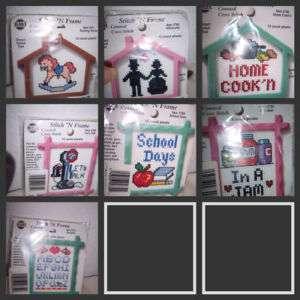 NMI Mini 14 Ct. Plastic Canvas Cross Stitch Kit Choice