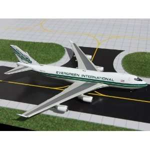 Gemini Jets Evergreen B747 400F Model Airplane Everything