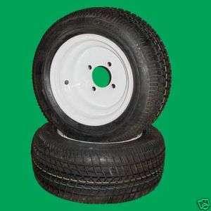 Four 205/50 10 Golf Cart E Z Go Club Car Tires & Wheels