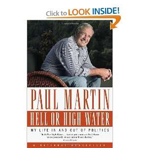 in and out of Politics Paul Martin 9780771056932  Books