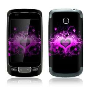 Glowing Love Heart Design Decorative Skin Cover Decal Sticker for LG