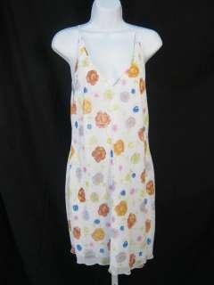 JOSIE NATORI White Floral Dress Jacket Outfit Sz S