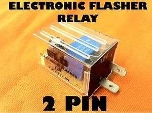 Upgrade 2 Pin Electronic Flasher Relay Fits MOTORCYCLE