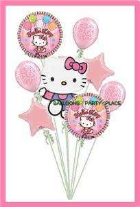 HELLO KITTY DREAMS birthday party balloon bouquet mylar