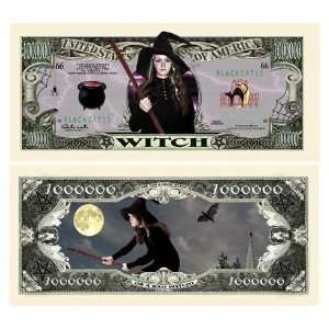 The Witch Million Dollar Bill Case Pack 100 Toys & Games