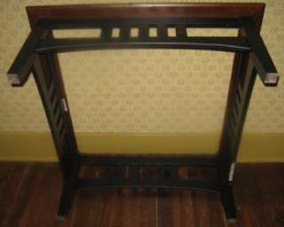 Ethan Allen American Impressions Cherry Coffee Table w. Glass Top