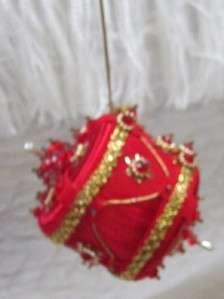 HANDMADE BEADED KIT CHRISTMAS ORNAMENTS