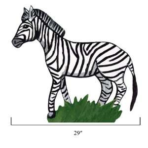 Sherri Blum Jungle Animals Medium Zebra Wall Stickers