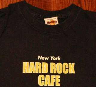 Hard Rock Cafe New York NYC Long Sleeve T Shirt S