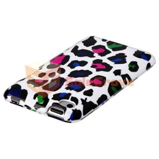 10in1 Pack Hard Skin Case Film Anti Dust Cap for iPod Touch 4 G 4th