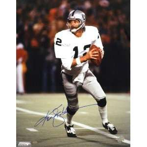 Ken Stabler Signed Raiders 16x20