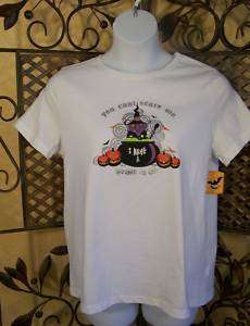 XL 16 /18 HALLOWEEN tee Shirt white Mother In Law NWT