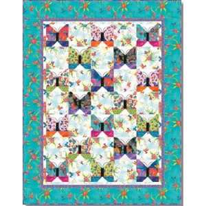 Burch Flying Things Quilt Pattern 56 x 72 Arts, Crafts & Sewing