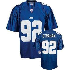 Michael Strahan #92 New York Giants Youth NFL Replica Player Jersey by