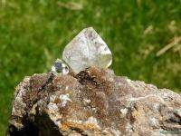 DIAMONDS MINE__Large Herkimer Diamond Quartz Crystal on Matrix