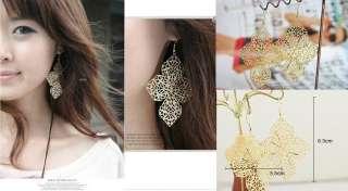 Bohemia style big shinning fashion women silver color Earrings