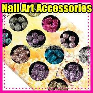NEW High quality Nail Art accessories shiny glitter #396 4