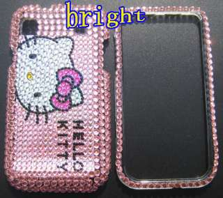 Hello kitty Bling Case Cover For Samsung i9000 Galaxy S