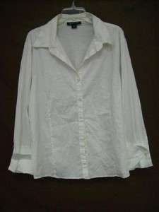 LOT of 12 Womens Nice Button Up Shirts Size 3XL 22/24 LANE BRYANT And