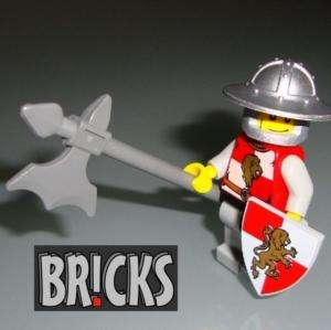 Medieval LION KNIGHT Minifig LEGO Kingdoms Castle k2
