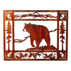 Bruin Metal Art Wall Hanging:  Home & Kitchen
