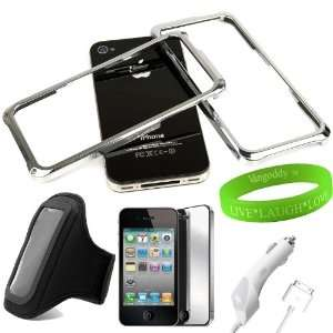 Workout Armband + iPhone 4S High Quality Mirror Screen Protector