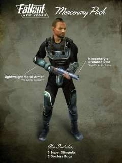 Fallout New Vegas DLC Mercenary or Classic Pack Code PS3