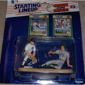 One on One Alan Trammell and Jose Canseco Starting Lineup