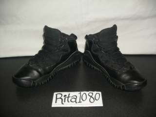 Air Jordan X Retro Black/White 2005 SZ.6Y