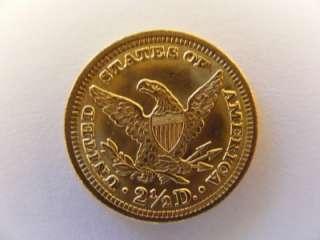 1904 LIBERTY HEAD GOLD QUARTER EAGLE COIN 2 1/2 DOLLAR
